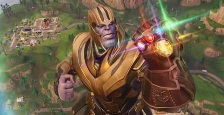 Así es como luce y juegas con Thanos en <em>Fortnite</em>