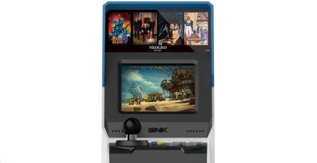 SNK revela la consola Neo Geo Mini