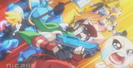 Ve la cinemática de introducción del juego crossover de peleas Blade Strangers