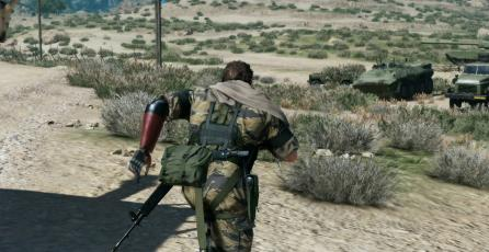 <em>Metal Gear Solid V: The Phantom Pain</em> se une a Games With Gold