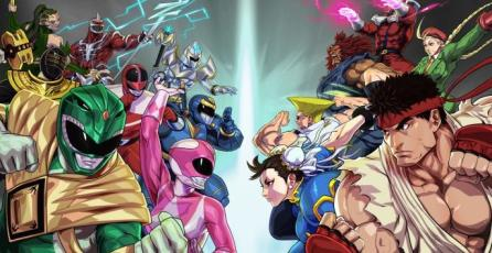 Personajes de Street Fighter se enfrentan a los Power Rangers en <em>Legacy Wars</em>