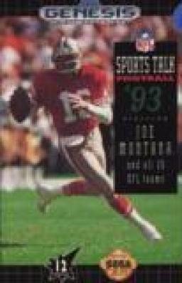 Sports Talk Football 93 Starring Joe Montana