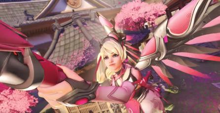 Hoy se acaba el plazo para apoyar la causa benéfica de Overwatch con el aspecto de Mercy
