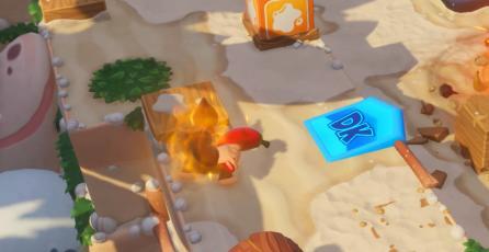 Donkey Kong atacará con un chile en <em>Mario + Rabbids: Kingdom Battle</em>