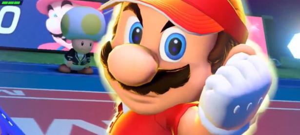 Estos podrían ser los personajes de <em>Mario Tennis Aces</em>