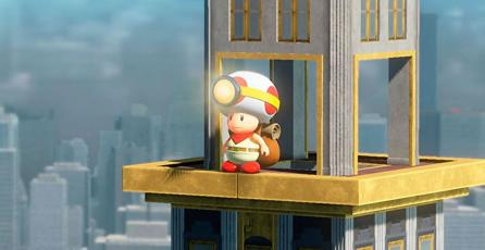 Así luce New Donk City en <em>Captain Toad: Treasure Tracker</em> para Switch