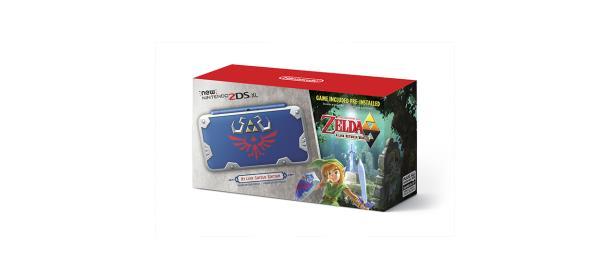 Checa este increíble New Nintendo 2DS de <em>The Legend of Zelda</em>