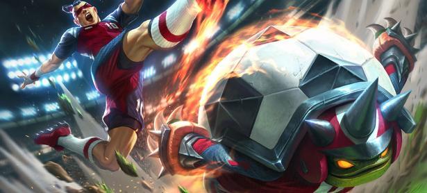 Nuevos aspectos de fútbol y más Cho'Gath de caridad llegarán a League of Legends