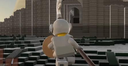 Recrean icónica locación de <em>Dark Souls</em> en <em>LEGO Worlds</em>