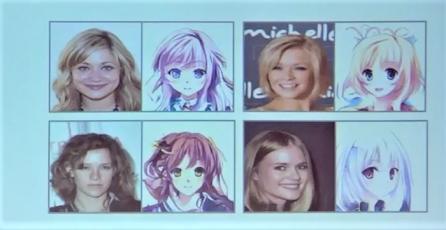 Inteligencia artificial convierte fotografías en dibujos de anime