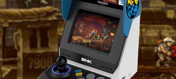 Checa la lista completa de juegos que incluirá el Neo Geo Mini