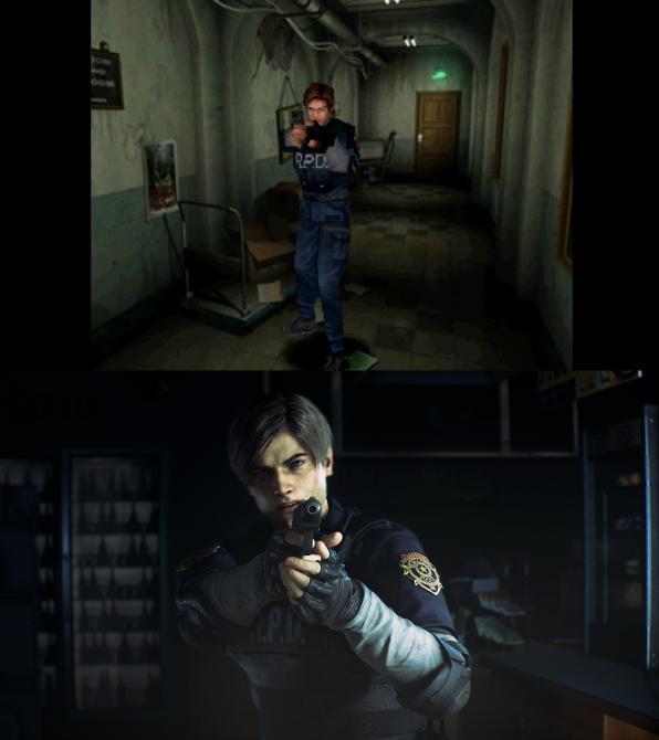 Capcom muestra imágenes comparativas de <em>Resident Evil 2</em>