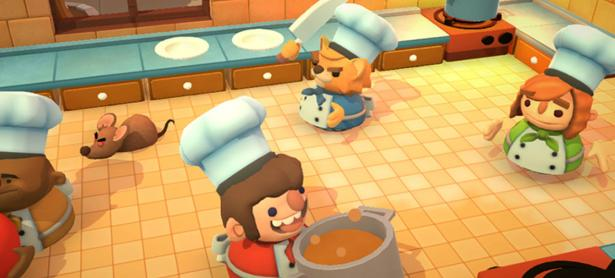 <em>Overcooked 2</em> llegará a Nintendo Switch