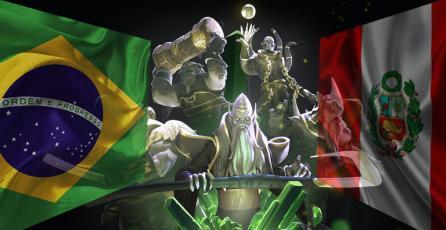 Brasil y Perú pelean por un cupo para The International 2018
