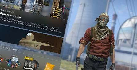Disponible Panorama UI la nueva y moderna interfaz de CS:GO