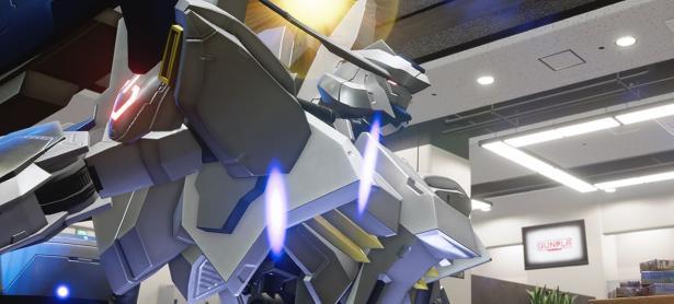 Los combates de <em>New Gundam Breaker</em> llegaron a PS4