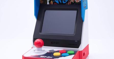 La Neo Geo Mini llegará a Japón en julio