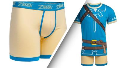Lanzan a la venta extravagante pijama de Zelda Breath of the Wild