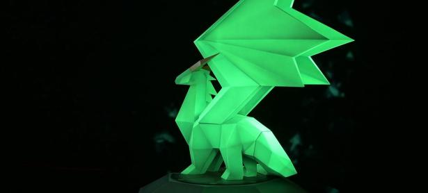Checa esta increíble figura de un Crystal Dragon de <em>Spyro the Dragon</em>