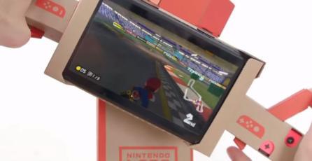 ¡<em>Mario Kart 8 Deluxe</em> ya es compatible con Nintendo Labo!