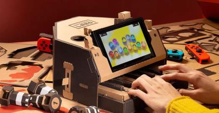Más juegos de Nintendo recibirán compatibilidad con Labo