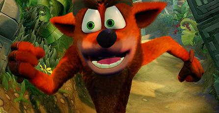 Así se ve <em>Crash Bandicoot: N.Sane Trilogy</em> en Switch