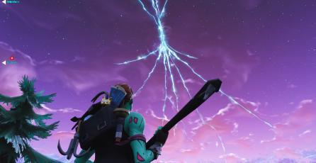 Las rupturas del cielo son cada vez más grandes en Fortnite y el final está cerca