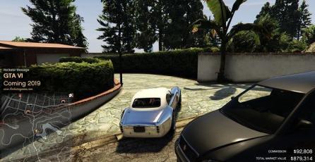Mensaje en GTA Online anuncia la llegada de GTA 6 para 2019