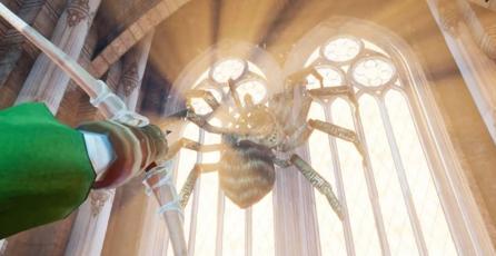 Enfrenta a los jefes de <em>The Legend of Zelda</em> en realidad virtual