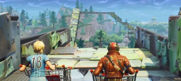 Adaptación de Mario Kart es recreada en Fortnite gracias a su nuevo modo de juego