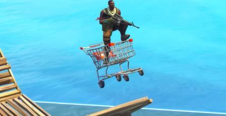 Jugadores crean alocadas pistas de carreras en <em>Fortnite: Battle Royale</em>