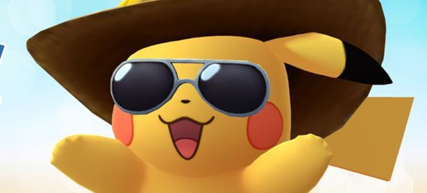 Una versión veraniega de Pikachu llega a<em> Pokémon GO</em>