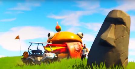 Hasta un Moai: El choque de mundos da inicio a la quinta temporada de Fortnite