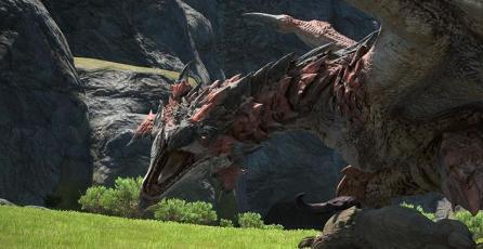 El Rathalos de <em>Monster Hunter</em> llegará pronto a <em>Final Fantasy XIV</em>