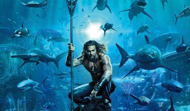 Descubre el primer póster oficial de Aquaman