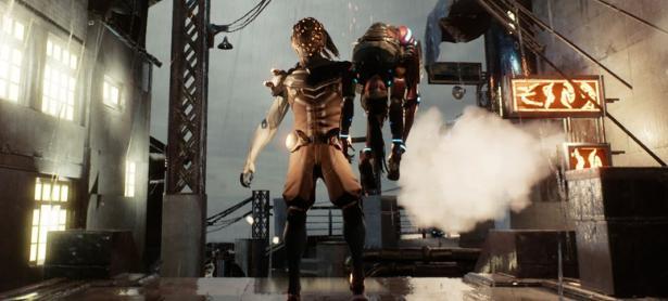 El shooter futurista <em>Gene Rain</em> llegará mañana a PS4