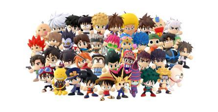 Goku, Naruto y Yami Yugi pelearán en este título estilo <em>Smash</em>