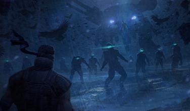 Terminado guión, y presentan conceptos arte de película Metal Gear