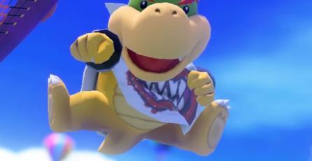 Actualización de <em>Mario Tennis Aces</em> nerfeará a Bowser Jr.