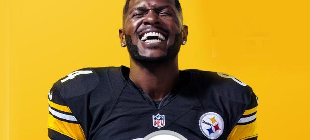 Antonio Brown será el atleta portada de <em>Madden NFL 19</em>
