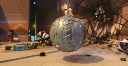 En 5 días podrás ver a Wrecking Ball en Overwatch