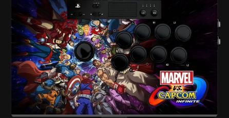 Razer presentó su arcade stick de <em>Marvel vs. Capcom: Infinite</em>