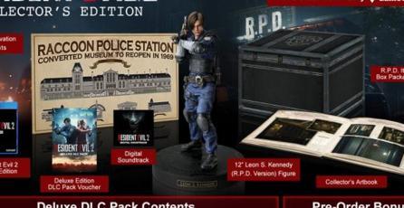 Todo esto incluirá la edición de colección de <em>Resident Evil 2</em>