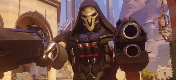 Te sentirás como Reaper de <em>Overwatch</em> con esta pistola de NERF
