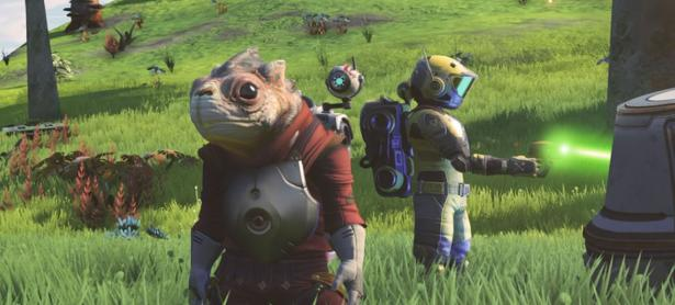 Explora con tus amigos el espacio de <em>No Man's Sky</em>