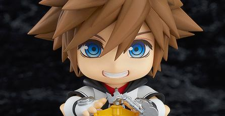 Checa el adorable Nendoroid de Sora de <em>Kingdom Hearts</em>