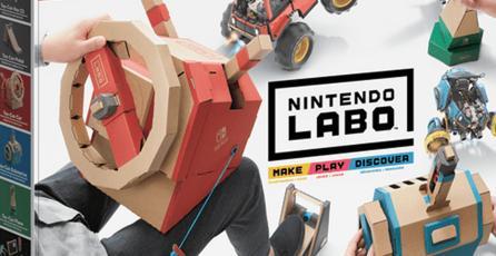 ¡Nintendo revela el nuevo set de Labo!