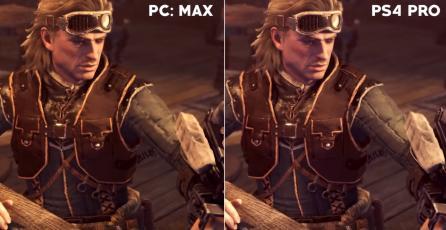 Así luce la comparativa de gráficos de Monster Hunter World entre consolas y PC