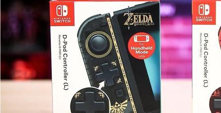 Los Joy-Con con D-Pad tendrán diseños de <em>The Legend of Zelda</em> y <em>Super Mario</em>