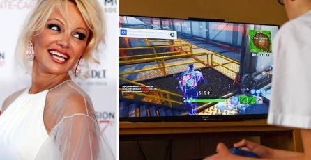 Pamela Anderson dice que hombres prefieren Fortnite que al sexo